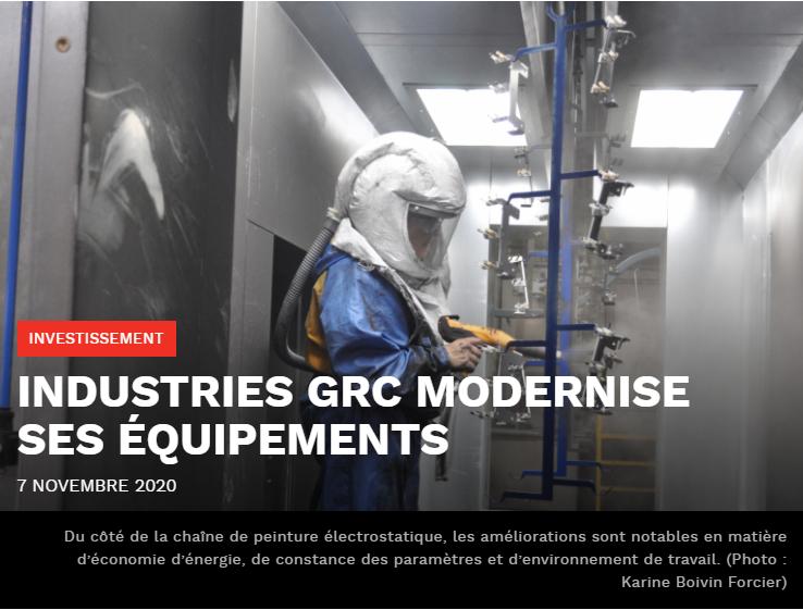 Article dans le journal Informe Affaires - Saguenay-Lac St-Jean